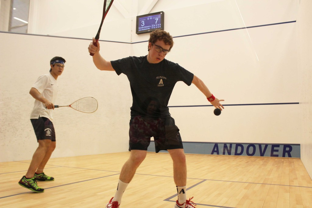 Boys Squash Secures Two Victories in Opening Weekened Double Header