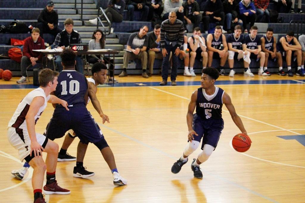 Andover Boys Basketball Secures Comeback Against Tabor