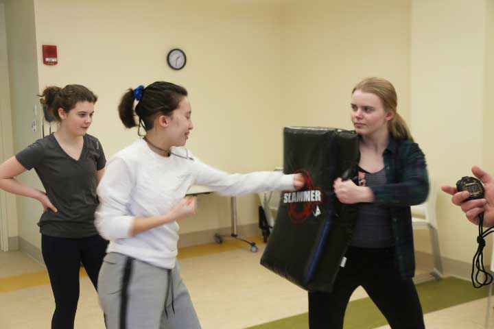 Sykes Wellness Center Hosts Annual Self Defense Class Featuring Counter-Attacks and Escaping Physical Holds