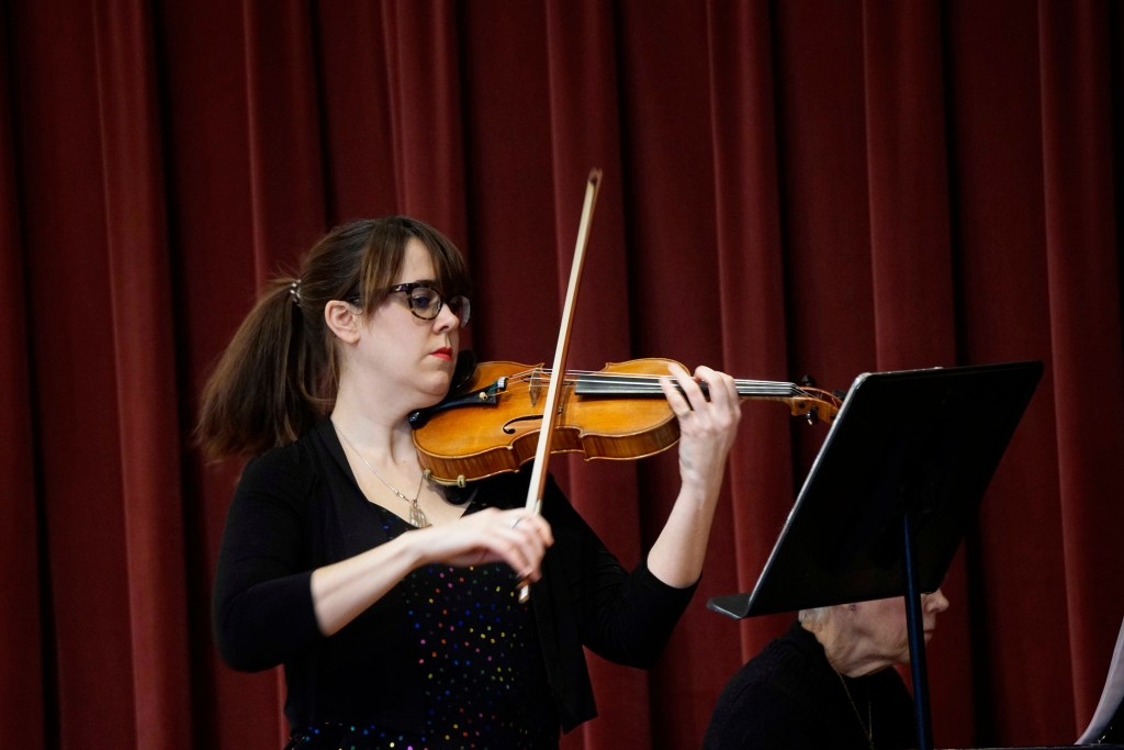 Guest Violin Concert Features Full Program of Work by Female Composers