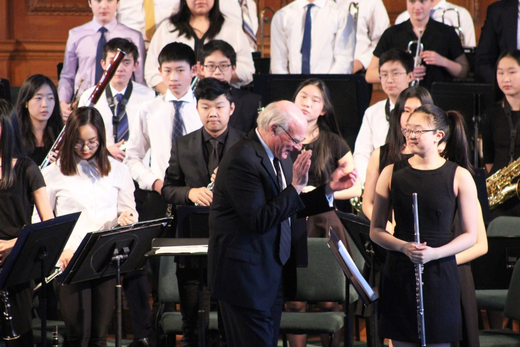 Academy Concert Bands Perform Pieces Ranging from Classical to Film Scores