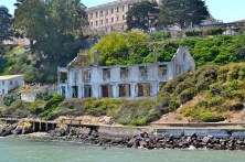 Creepy building on Alcatraz