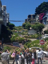 Another view of Lombard Street