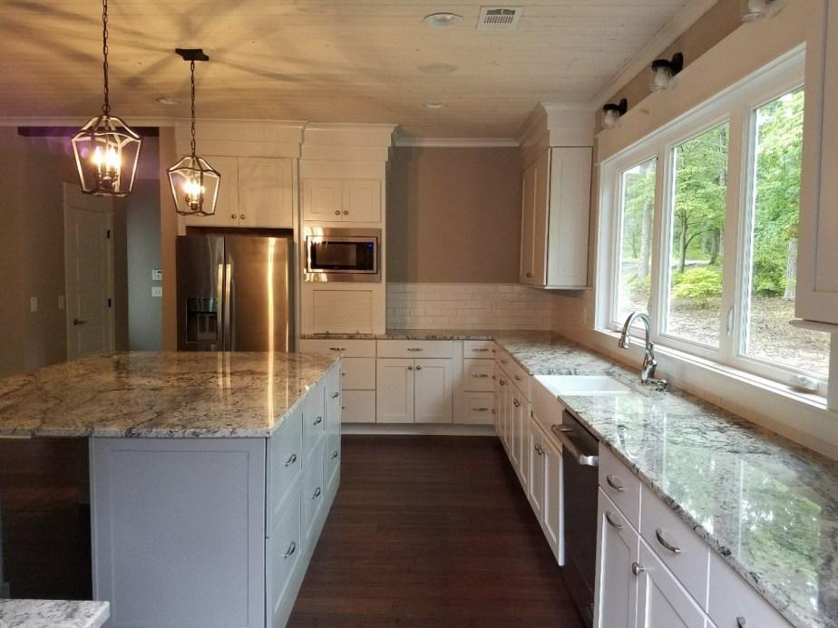 Johnson white kitchen