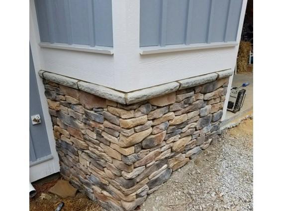 Monyette exterior stone
