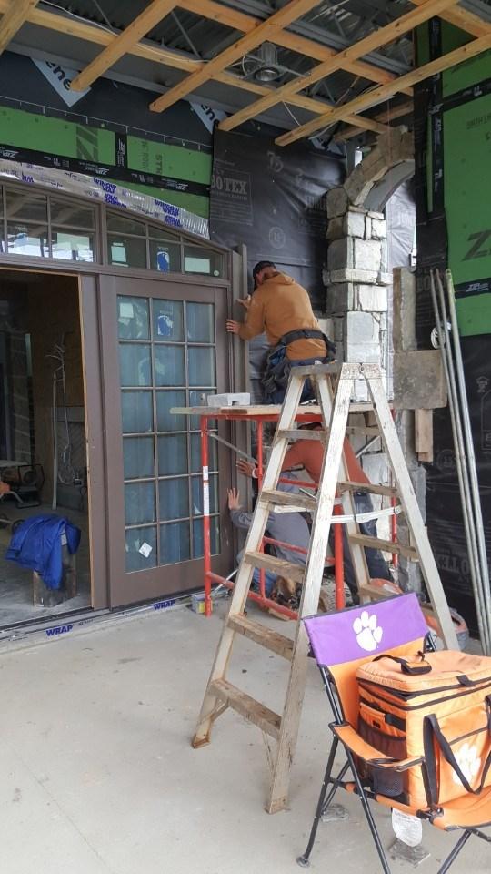 6-ext door install