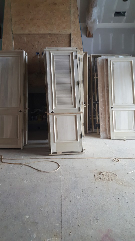 1-interior door delivered