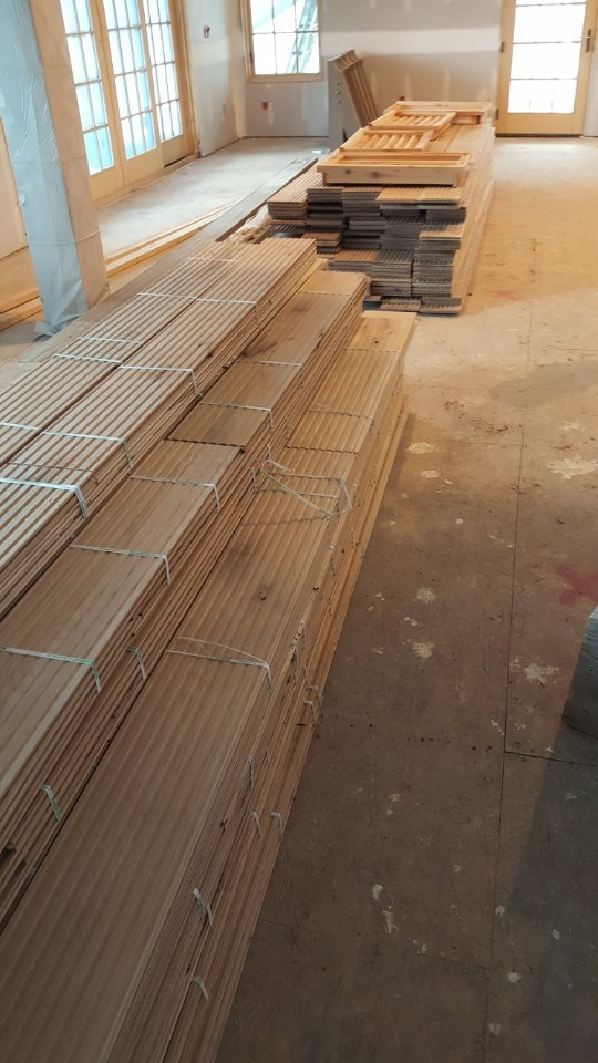 4-wood flooring delivered