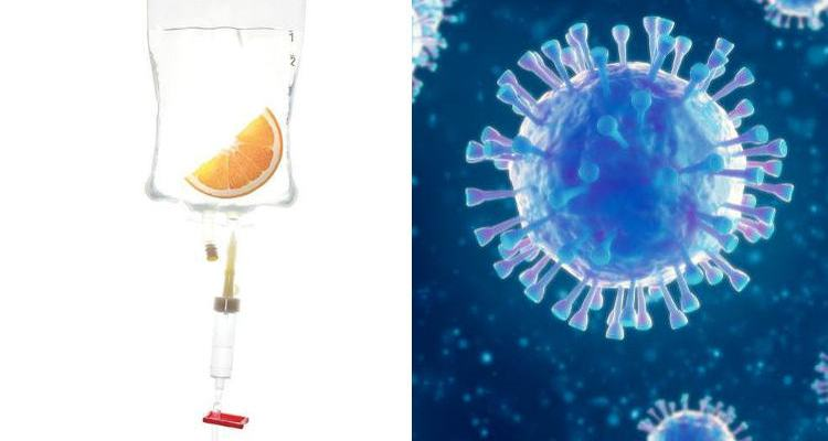 Vitamin C in an IV bag and coronavirus