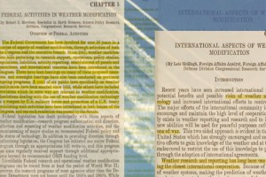 Chemtrail documents from 1978