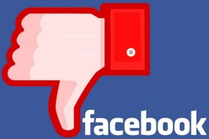 Facebook logo dislike