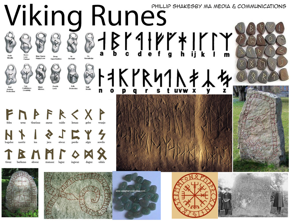 Viking Rune Stone Keyboard