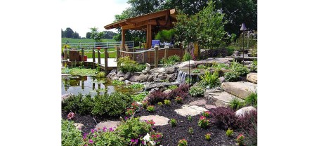 Waterfall Water Hardscapes
