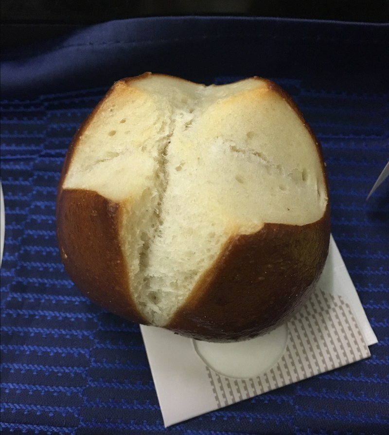 United Pretzel roll