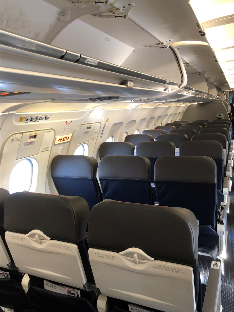 American Airlines A320 Economy