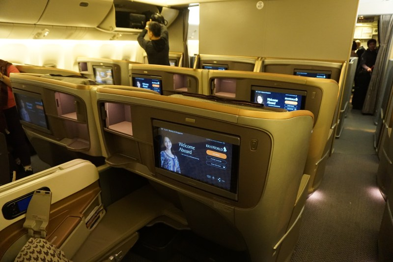 Singapore Airlines 777-300