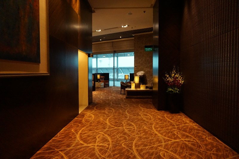 Singapore Airlines Private Room