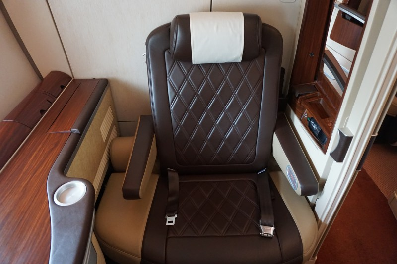 Singapore Airlines A380-800 Business Class