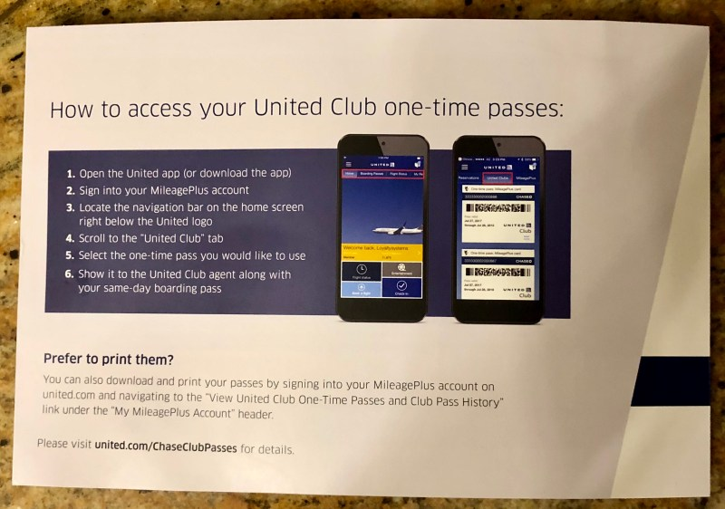 Why Did United Airlines Club Passes Go Digital