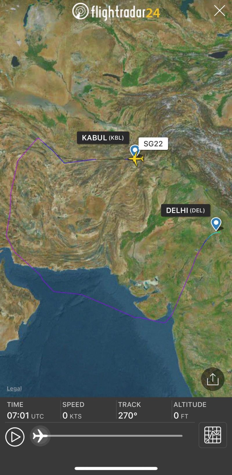 Pakistan Airspace Closure
