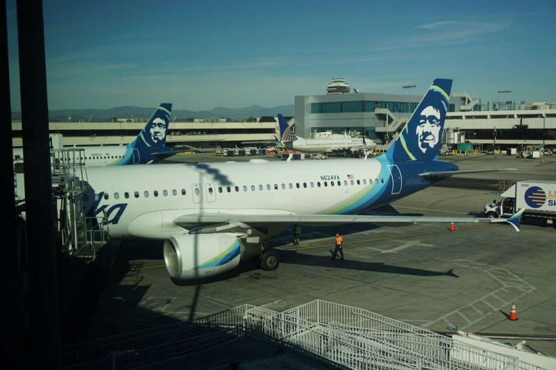 Alaska Airlines Lounge LAX