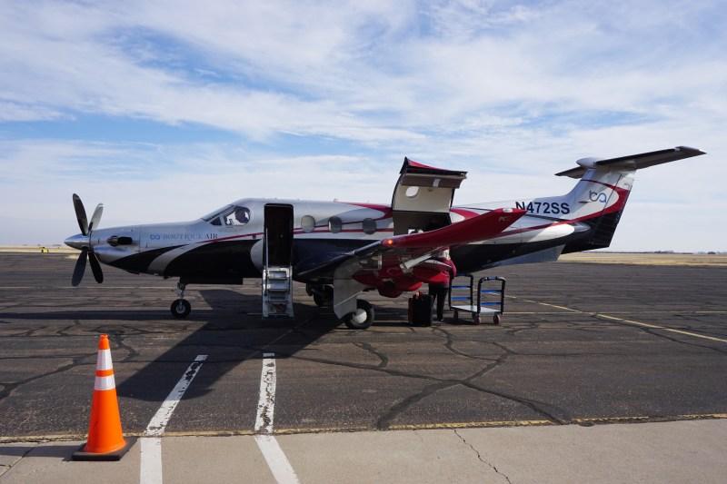 Boutique Air PC-12 Dallas to Clovis
