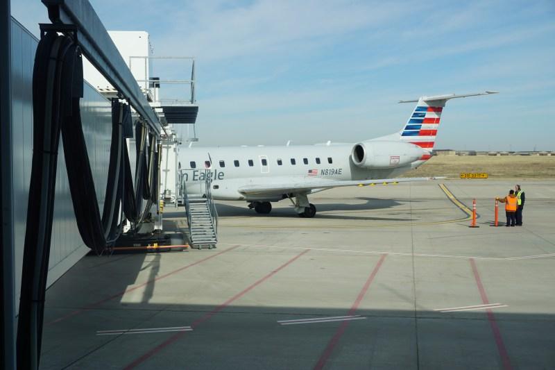 American Airline ERJ-140 Wichita Falls to Dallas