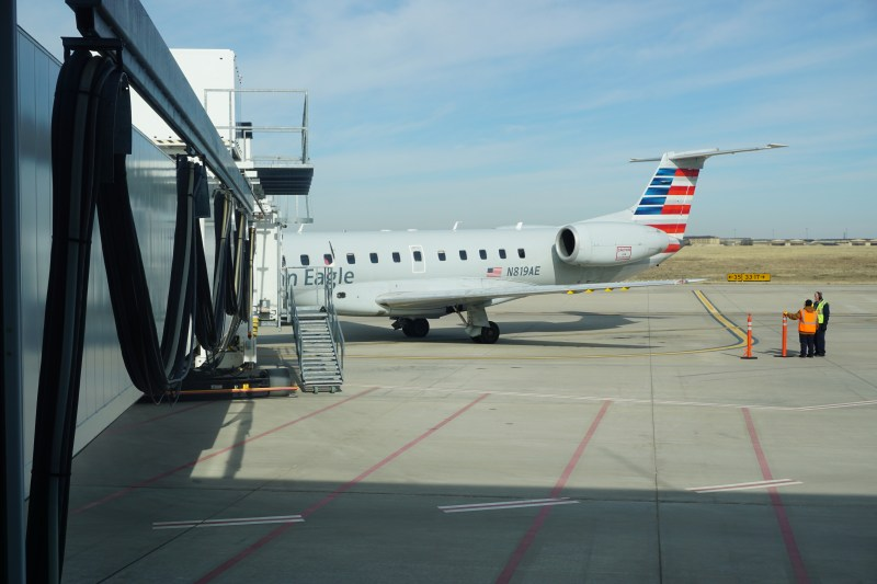 American Airline ERJ-140 Wichita Falls to Dallas