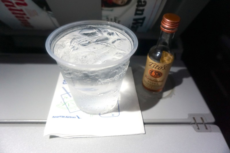 American Airlines A321 Economy Dallas to Tampa