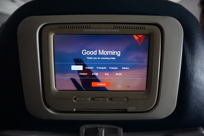 Delta  Airlines 737-700 Atlanta to Fort Walton Beach