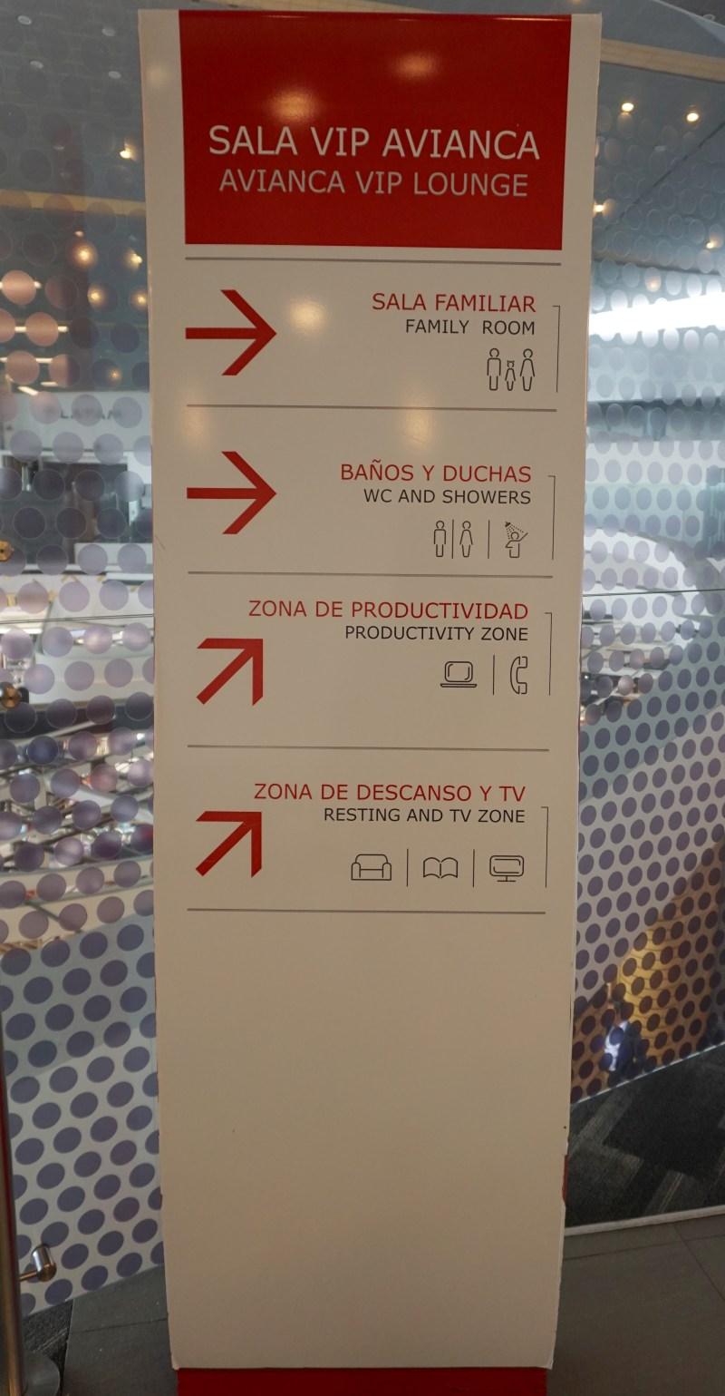 Avianca Sala VIP Lounge Bogota