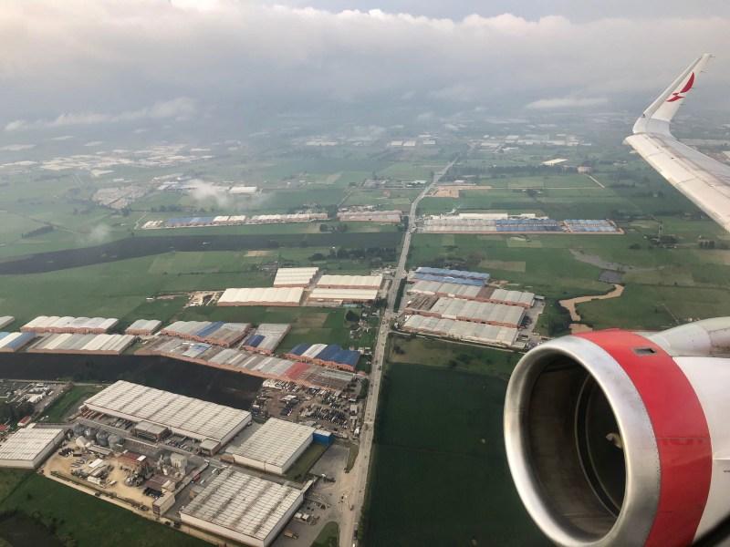 Avianca A319 Bogota to El Salvador