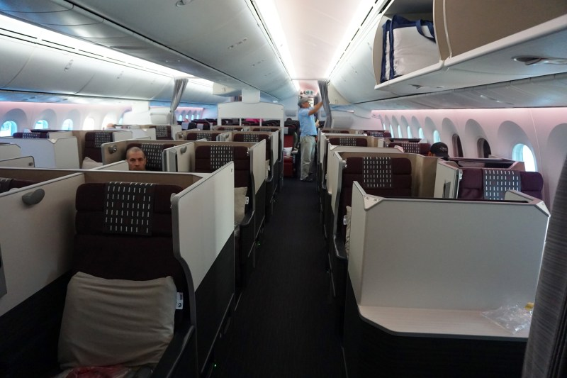 JAL Premium Economy 787-900 Dallas to Tokyo
