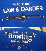 PM rowing tshirts for 2015