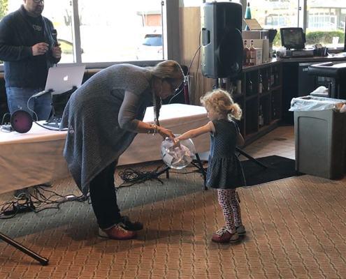 Byrona Maule and Director Joshua Edwards' daughter Matilda