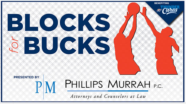 Blocks For Bucks presented by Phillips Murrah P.C.