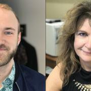 Nathan Hatcher and Lisa McAlister