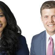 Monica Ybarra and Cody Cooper
