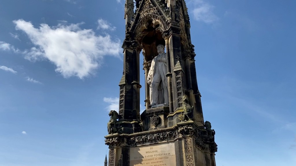 William Duncombe Monument Helmsley North Yorkshire