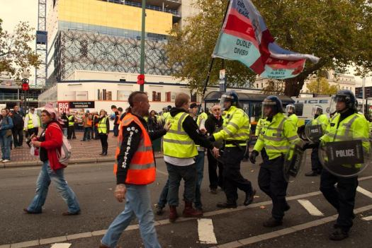 EDL and the police
