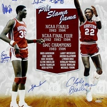 The Phi Slamma Jama Houston team came close 3 years to being march madness champions