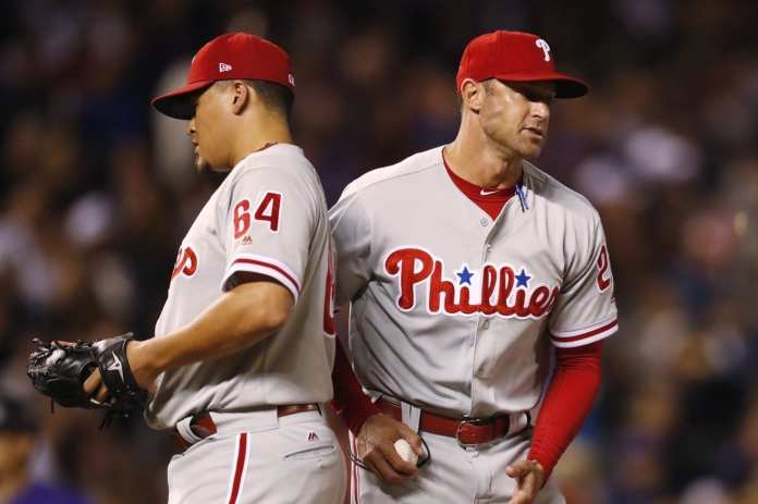 Gabe Kapler and the Phillies can't find the right fit out of the bullpen.
