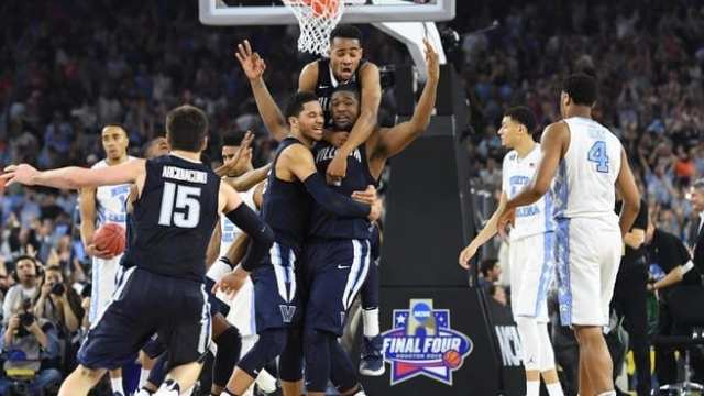 Villanova defeats UNC on buzzer beater to win title in 2016. Both teams show how to build a champion