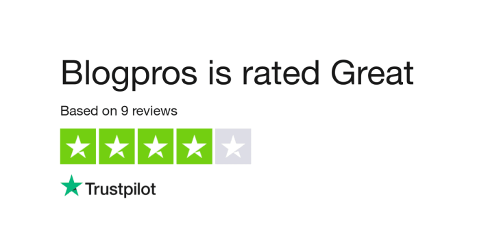 Blogpros review rating