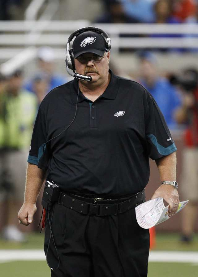 Andy Reid as coach of the Philadelphia Eagles