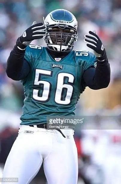 Eagles DE Derrick Burgess