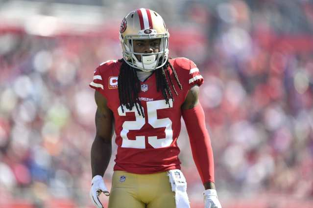 Richard Sherman playing with the 49ers