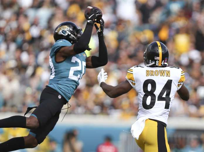 Jalen Ramsey covers Antonio Brown, can Jeff Okudah be the same defensive force for the Lions.