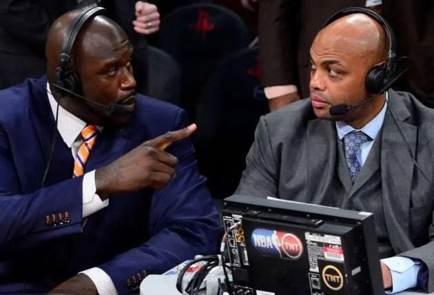 Charles Barkley vs Draymond Green started on inside the NBA.  Barkley and Shaq breakdown action
