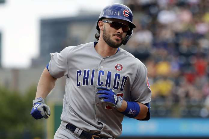 Kris Bryant was invoved in trade talks to th Phillies. Most trades involved Spencer Howard